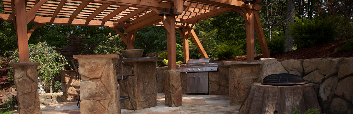 Action Outdoor Kitchen Backyard Fireplaces Patio Fire Pits Madison Wi